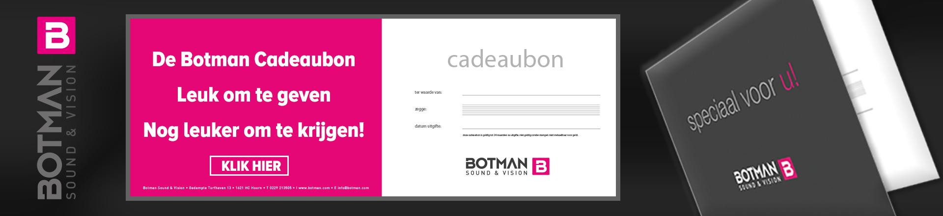 Botman Sound & Vision Cadeaubon